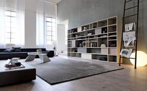 Citylife 33, Modern bookcase suited for residential environments