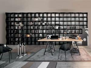 Picture of Iron-ic, modern-bookcase