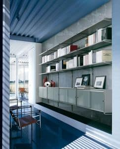 Picture of Socrate wall, bookcases