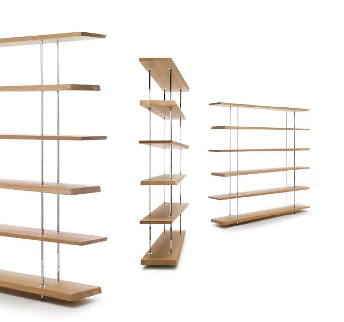 Storage bookcases modern idfdesign - Modern bookshelf plans ...