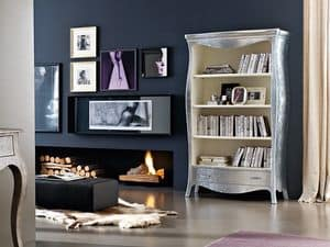 Picture of Vogue bookcase, elegant bookcases