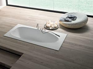 Picture of BOMA bathtub built-in, modern bathtub