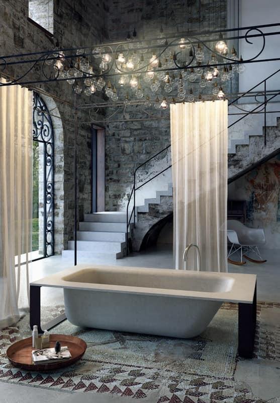 Great CONCRETE BATH, Minimal Design Bathtub, Various Colors And Finishes