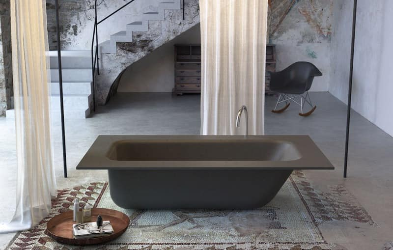 Minimal Design Bathtub Various Colors And Finishes
