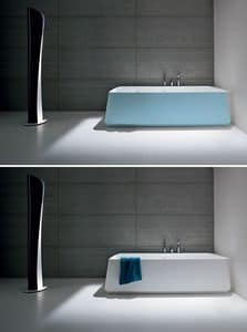 Picture of OPUS bathtub corner, modern bathtub