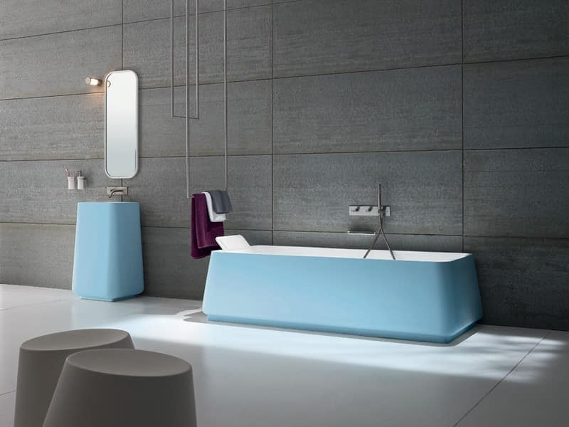 Picture of OPUS bathtub wall, modern tub