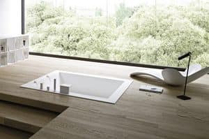 Picture of UNICO bathtub built-in, modern tub