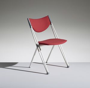CONPASSO 1, Stackable and transportable chair with trolley