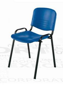 Iso, Stackable chair for multifunctional rooms