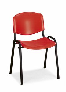 Stella plastic 100, Chair with plastic shell for university classrooms