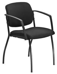 Universal 4 legs, Padded chair with armrests, for conferenec room