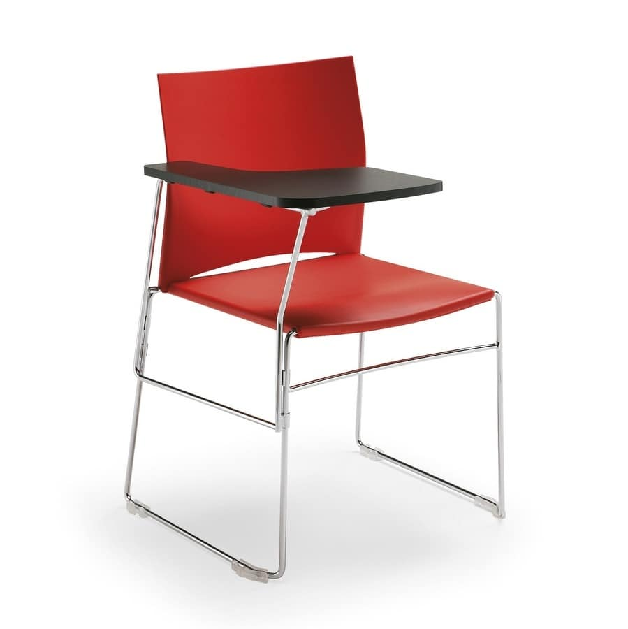Chair for meetings and conferences padded stackable for Modern sitting chairs