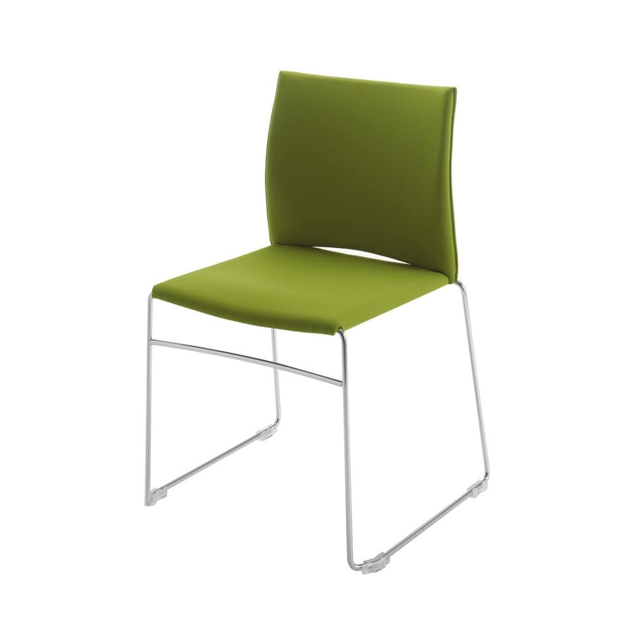 Chair For Meetings And Conferences Padded Stackable