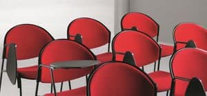 DELFI 082 TDX, Chair with metal base, for conference halls