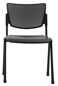 Aria, Stackable chair, for conference, equippable with tablet