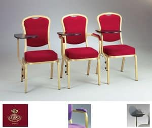 Cello 58/4, Fireproof padded chair for meetings and receptions