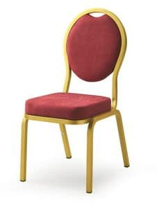 Como 65/4, Chair for banquet, conference and meeting rooms in hotels