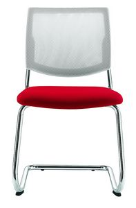 Picture of Q-Four > Mesh version, meeting room chair