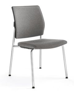 Picture of Q-Four > Upholstered version, conference chair