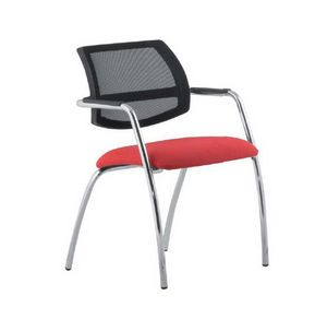 City 133 4G, Chair with mesh backrest, for conference room