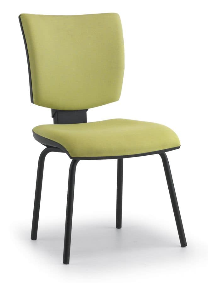 Pole 04, Padded task chair for conference rooms