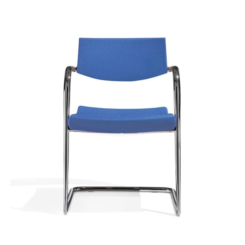 Klic, Metal chair, stackable, for conference and meeting room