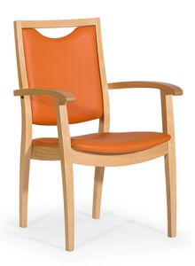 Salus ARMS, Upholstered chair for rest homes
