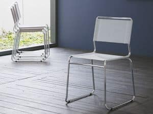 Picture of sendy net, metal chair