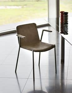 Picture of Trampoliere P, leather or fabric chairs
