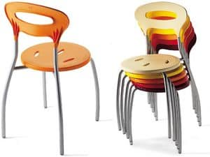 Picture of OLA 333, metal chairs