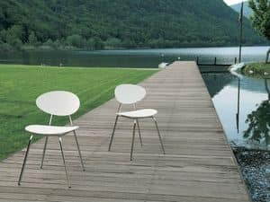 Picture of s85 tecna, linear dining chairs