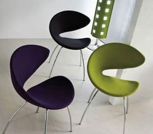 Picture of Twist TS, simple dining chairs