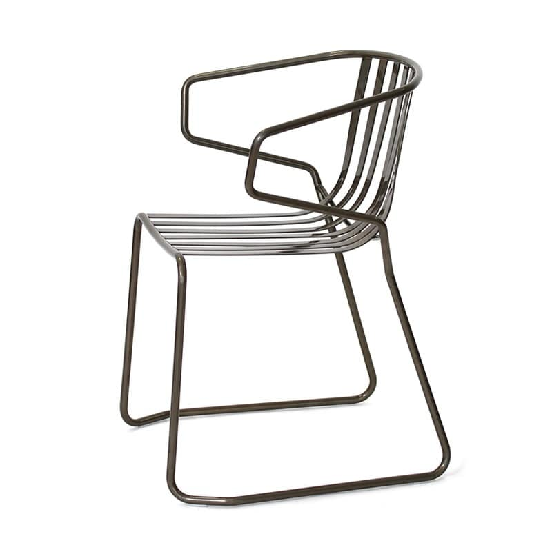 HOME P09 Outdoor Categories Index Seats Chairs Modern Metal With Metal