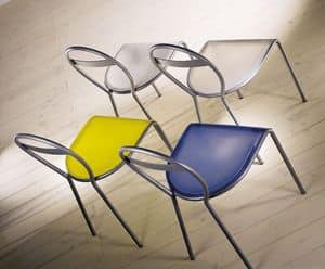 Picture of ART. 196 RODI, basic metal chair