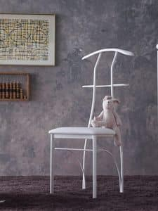 Picture of Galileo, metal dining chair