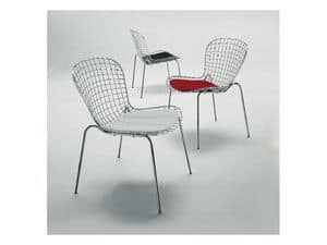 Picture of Senzatempo, chairs with metal frame