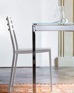 Picture of venice, chair with metal frame