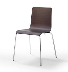 Picture of Fibra, dining chair with metal legs
