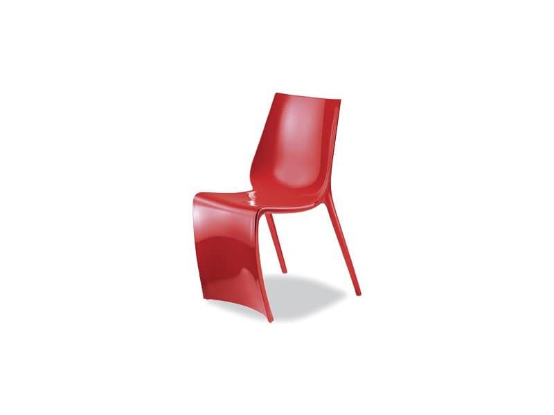 2007 Plastic modern chair Ice cream parlour IDFdesign
