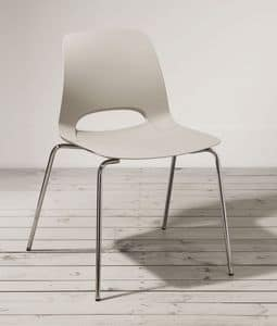 Picture of BOPPER 4, chair with metal frame