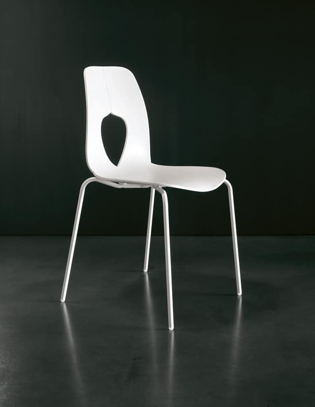 Great Metal plastic kitchen chair Restaurant - Price - HOLE by Tonin Casa  619 x 800 · 55 kB · jpeg