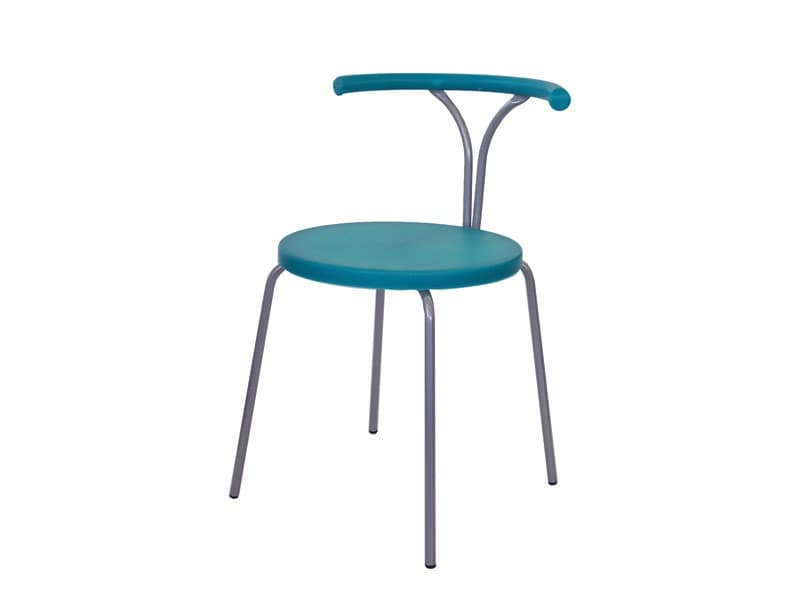 Plastic metal chairs for Corbetta arredamenti