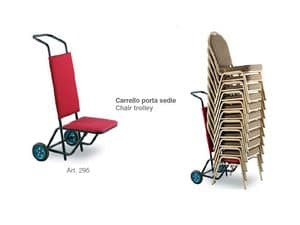 Picture of Chair trolley 295, cart for folding chairs