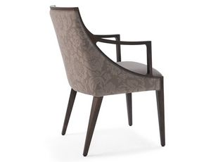 Topaz-P, Hotel dining chairs with armrests