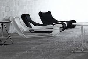 Picture of California chaise longue, swimming pool sunbed