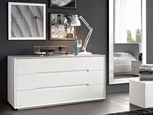 Picture of Diagonal chest of drawers, sideboard