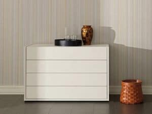 Picture of Eureka chest of drawers, decorated chest of drawers