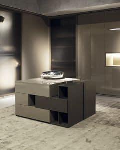 Slunga dresser, Dresser design, with 2 additional mobile parts