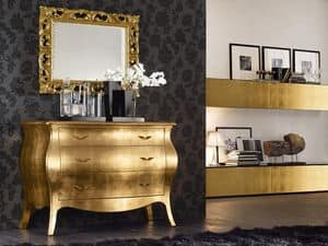Picture of Vogue chest of drawers VGN021F, sideboard with drawers