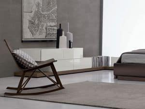 Picture of Zoe Open chest of drawers, sideboard with drawers